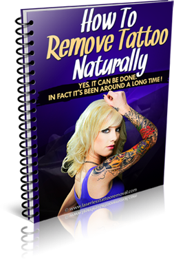 how to remove tattoo naturally ebook