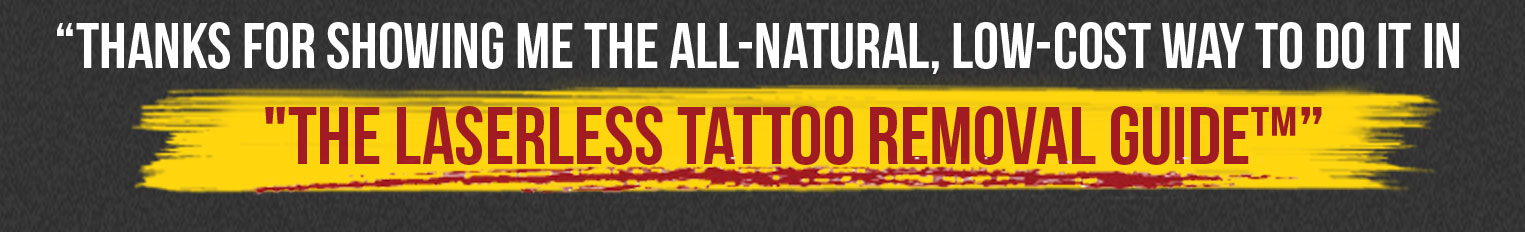 laserless tattoo removal guide free pdf